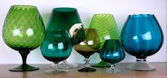 Vintage brandy glasses