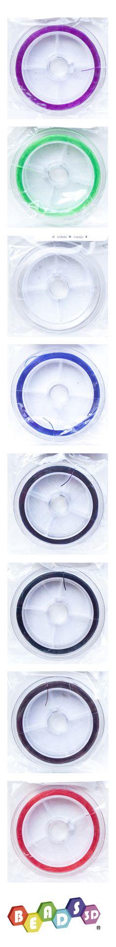 Elastica wire, 0,5 mm, BEADS3D ®, made in Taiwan - http://www.gemmopoli.com/componenti-bigiotteria?dettaglio=19538=21820
