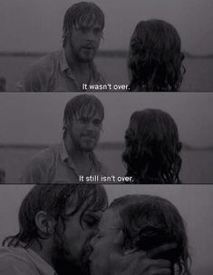 The Notebook, best love movie ever created. Thanks Nicholas Sparks Love Movie, Movie Tv, The Notebook Quotes, The Notebook Scenes, Noah From The Notebook, Ryan Gosling The Notebook, Libido, Favorite Movie Quotes, Romantic Movie Quotes