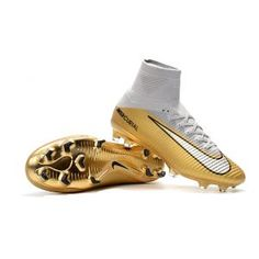 fa7d0b03725 Nike Mercurial Superfly V CR7 Quinto Triunfo FG Metallic Gold Womens Soccer  Cleats