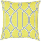 Found it at AllModern - <strong>Surya</strong> Intersecting Lines Pillow many different colors 18x18 22x22