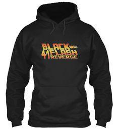 Black Flash 41 Reverse Hoodie