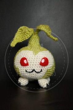 Tanemon Digimon 12 cm amigurumi