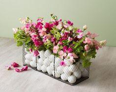 Spring Centerpiece {Naked Bouquet}