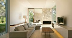Living Room Interior Decorating Photos To Create The Heart Of Your Home (5) Villa Design, House Design, Minimalist Interior, Modern Interior, Interior Architecture, Interior And Exterior, Spanish Architecture, Home Connections, Interiores Design