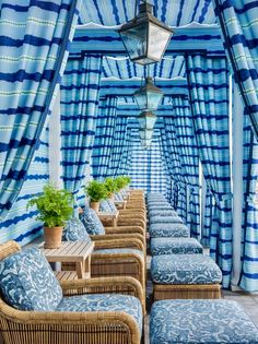 Double click if this cabana style has you dreaming of summer! 💙 Photo via Outdoor Cabana, Pool Cabana, Outdoor Spaces, Outdoor Living, Outdoor Decor, Outdoor Furniture, Fresco, Outdoor Material, Outdoor Settings