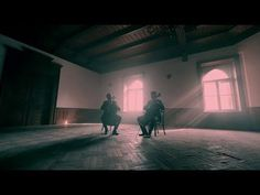 2CELLOS - Shape Of My Heart [OFFICIAL VIDEO]  Really love how he drags his fingers on the strings, making it sound as if the cello is taking a breath...