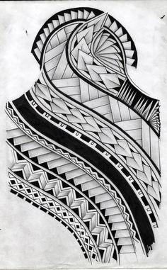 samoan tattoo design by koxnas.deviantart.com on @deviantART