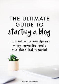 Since you ended up on this page somehow, you've admitted that you're at least kind of interested in starting a blog. It might sound like a totally daunting task, but the best way to find out if you want to have a blog is to just start one. You don't need to have a whole… Read More