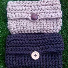 "75 Me gusta, 3 comentarios - Madila Handmade/Crochet/Knit (@madilahandmade) en Instagram: ""Handbags finished! Made with Tshirt Yarn  #crochet #crochetlove #hooked #handbag #purse…"""