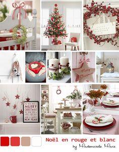 My Wonderwall by Mademoiselle Marie : un blog lifestyle made in Reims: Noël 2012 : un Noël en rouge et blanc