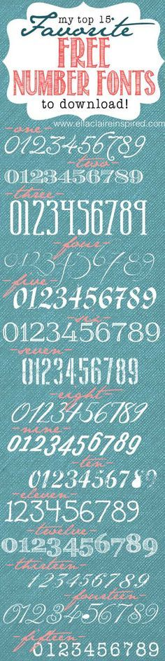 Stencil paris french script numbers bride lake house for Classic house number fonts