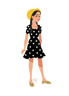 4148bc6a An Artist Illustrated All Of Lara Jean's Outfits From