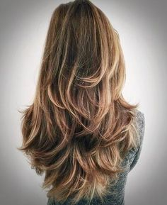 Trendy hairstyles for long hair 2018 - Frisuren für lange Haare - Cheveux Femme Haircuts For Long Hair, Cool Haircuts, Straight Hairstyles, Cool Hairstyles, Layered Haircuts, Haircut Long Hair, Formal Hairstyles, Braided Hairstyles, 2018 Haircuts