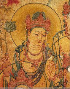 【高清组图】奈良国立博物馆的日本国宝:8世纪 唐代刺绣 释迦如来说法图 - licengri - 佛教艺术博物馆