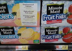 Minute Maid Juice Boxes Just $0.97 At Walmart!
