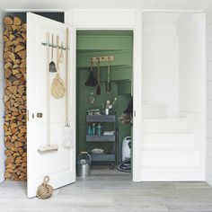 Claw back space with a clever cupboard under the stairs | Ideal Home