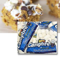 Smores indoors or just top off a warm mug of anything! Classic super puffy Campfire mini marshmallows in giving packets.