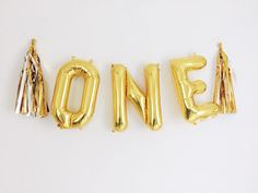 one letter balloons gold silver foil mylar letter balloons banner with tassels kit silver