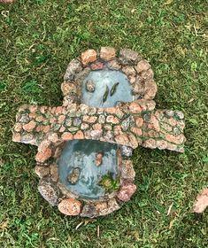 Miniature Stone Pond and Bridge