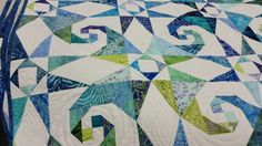 Quilt by Laura Flynn, Quilting  by Cindye Baily.