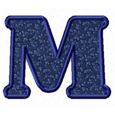 The letter M is beautiful. I love it.