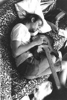 Kurt Cobain, 1989