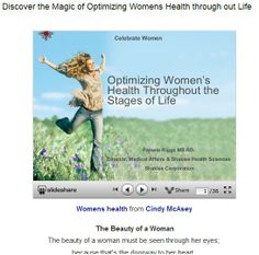 The Beauty of a Woman must be seen through her eyes; because that's the doorway to her heart. The place where Love resides. womens #health #slideshare presentation. Pls RT