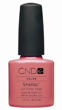 CND Shellac Color Coat with UV3 Technology, Rosebud