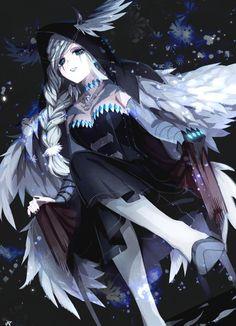 """akr on Twitter: """"夜行案内人… """" Cute Anime Character, Character Concept, Character Art, Character Design, Female Characters, Anime Characters, Identity Art, Anime Artwork, Anime Art Girl"""