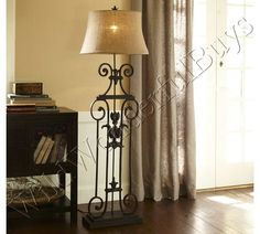 wall color  pottery barn style house | CHIC STYLE HOME: Pottery Barn Sabina Table & Bedside Lamps