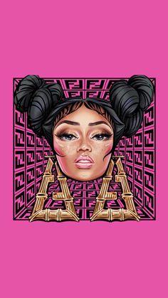 Fendi Prints On? Nicki Minaj Outfits, Beyonce Nicki Minaj, Nicki Minaj Quotes, Nicki Minaj Images, Nicki Minaj Barbie, Nicki Minaj Pictures, Nicki Minaj Cartoon, Nicki Minaj Drawing, Nicki Manaj