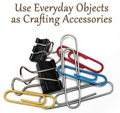 Make Everyday Objects into Yarncrafting Accessories #yarn #craft #DIY