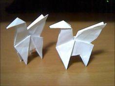 Origami Pegasus Folding Instructions   Origami Instruction   http://www.origamiinstruction.com/origami-pegasus/