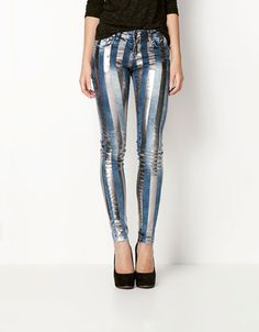 Bershka Colombia - Jeans BSk rayas