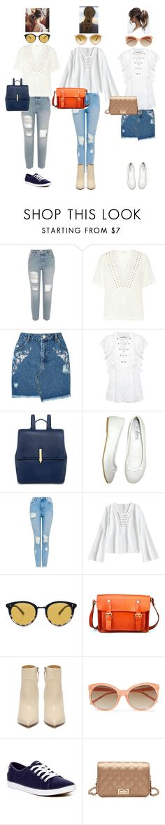 """Untitled #1026"" by o-p-backe ❤ liked on Polyvore featuring A.L.C., Miss Selfridge, IRO, Karen Walker, Easy Shoes, Oliver Peoples, Linda Farrow and Keds"