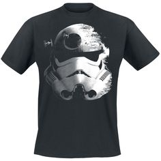 Star Wars  T-Shirt  »Stormtrooper - Deathstar« | Buy now at EMP | More Fan merch  T-shirts  available online ✓ Unbeatable prices!