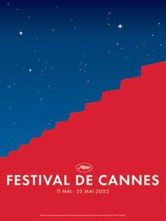 La 58ème édition du Festival de Cannes, en 2005 Auteur de laffiche: Frédéric Menant et Tim Garcia. Palme dOr: Lenfant de Jean-Pierre Dardenne et Luc Dardenne