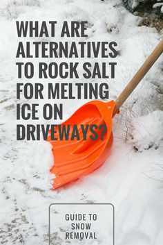 There are many other chemical and non-chemical deicing methods that work well and are cost-efficient. We offer 6 chemical deicers that can take the place of rock salt and 4 non-chemical deicing solutions to consider. What Is Alternative, Snow Melting Mats, Household Products, Snow And Ice, Salt, Cleaning, Make It Yourself, Rock, Natural