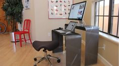 The Movable Workspace - great idea