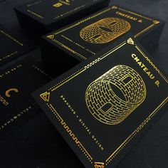 businesscards-chateax-gold-foil-black-cards-w640