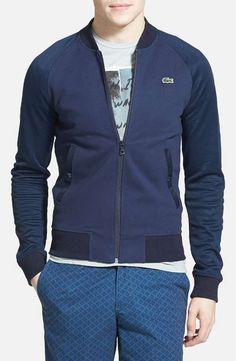 Lacoste | L!VE Zip Track Jacket #lacoste #track #jacket