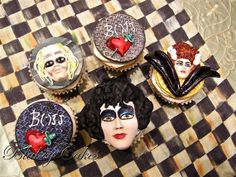 Rocky Horror Picture Show Fondant Cupcake Toppers - $35.00