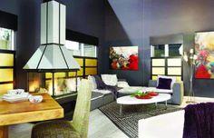 La tendance est aux aires ouvertes, harmonie des styles et des matériaux - Sofa Déco 2011 Styles, Architecture, Decoration, Table, Furniture, Home Decor, Bespoke Furniture, Arquitetura, Decor