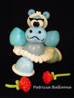Ballerina Hippo Balloon Sculpture made by Patricia Balloona, https://patriciaballoona.files.wordpress.com/2014/07/best-hipo-4.jpg