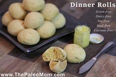 Dinner Rolls made with Otto's Naturals Cassava Flour   The Paleo Mom