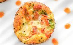 Muito fácil de fazer, a omelete de forno pode ser preparada com ingredientes que estão na sua geladeira, como queijos e vegetais. Confira!
