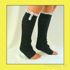 Crochet leg warmers ,HP EVERYDAY ESSENTIALS BY AMYWHIP Color is gray,very cute 98%poly,2%spandex machine wash low,great for boots ! Accessories