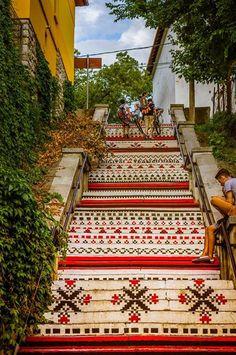 Rakoczi stairs , Targu Mures City- Romania