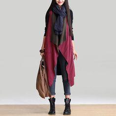 cream cable waterfall cardigan | cheap boho clothing | Pinterest ...